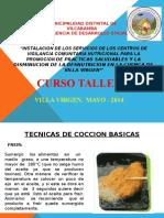 Tecnino. de Coccion de alimentos