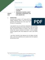 r Grounding of Clipper Cv4 Aka Cork 20100124 Rh