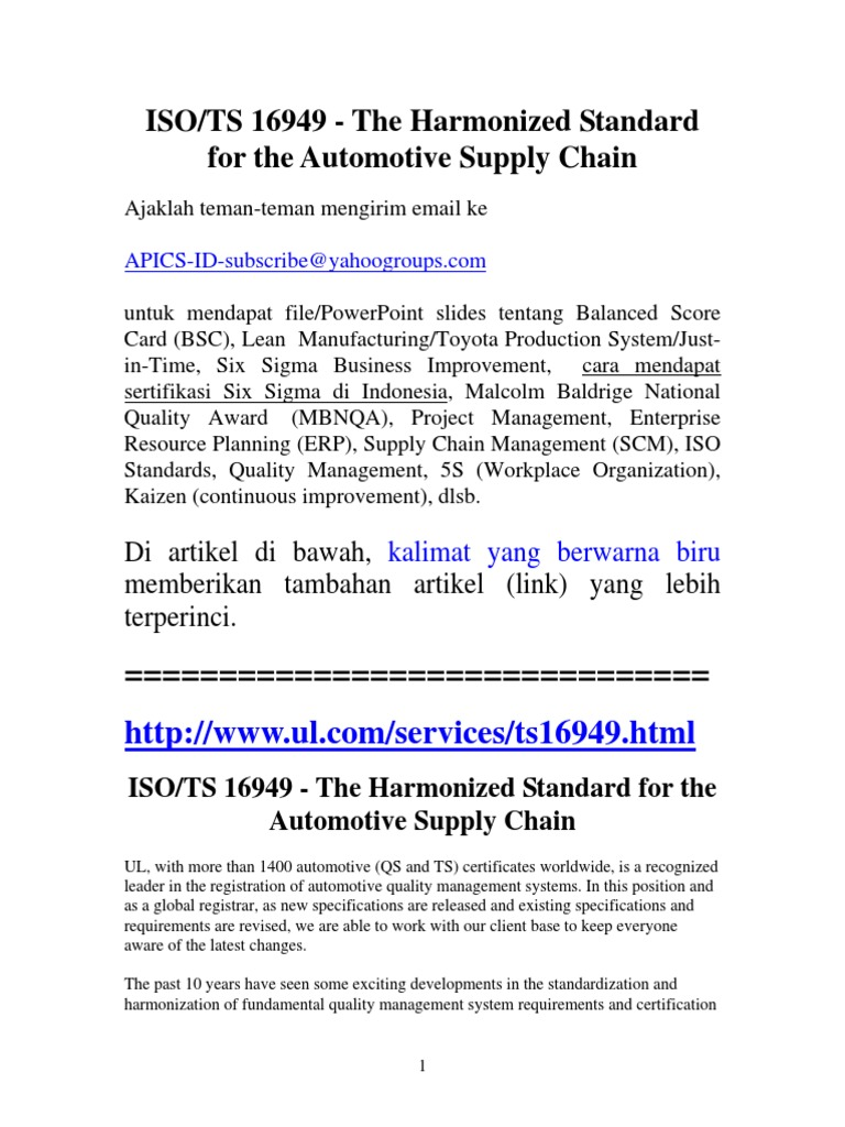 Iso ts 16949 automotive quality standard quality management iso ts 16949 automotive quality standard quality management quality management system 1betcityfo Gallery