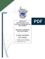 Clarissa Argumedo - Métodos Numéricos Para Ingeniería (Con GeoGebra)