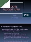 KeDUDUKAN FILSAFAT ILMU.ppt-1.ppt-1.ppt