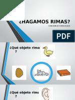 HAGAMOS RIMAS