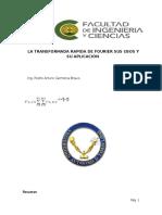La Transformada de Fourier Informe (Ecualizador)