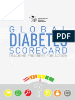 Global Diabetes Scorecard