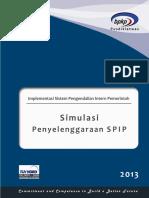 Modul SPIP Simulasi 2013