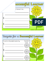 individual learning goals