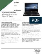 HP 8540w