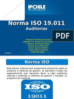 6.2 hasta 7.3 ISO 19.011