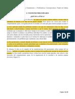 1. Lectura - La Ética Fundamentos y problemas contemporáneos. Autor. Pierre Blackburn. Págs. 17- 34.