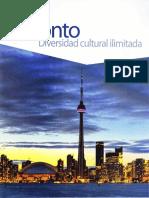 Toronto Diversidad, cultural ilimitada