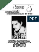 Boletín Utalino Rebelde Edición Especial 15 de Agosto