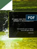 Libro El Agua Entre Letras ADOLFO TOLEDO PARREÑO