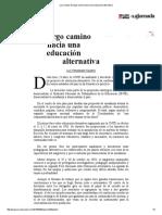 La Jornada_ El Largo Camino Hacia Una Educación Alternativa