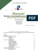 TECNICAS E INSTRUMENTOS PARA EVALUAR EL APRENDIZAJE.docx