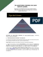 Informe de Auditoría Forense en Caso Matute