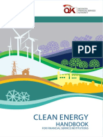 Clean Energy Handbook for Financial Service Institution