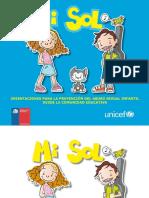 Libro Mi Sol 2012