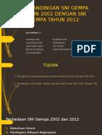Perbedaan SNI gempa 2002 dan SNI 2012