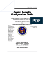 Router Security Configuration Guide