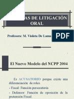 Tecnicas de Litigación Oral Trujillo