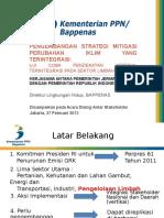 Presentasi v-NAMA Bappenas Dialog Stakeholder