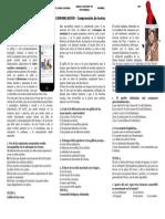 Prueba de Comunicación - Comp Textos 1ro