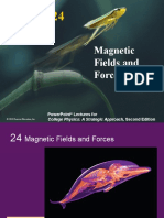 24 LectureOutlineMagneticFields&Force