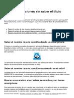 Encontrar Canciones Sin Saber El Titulo 10189 Mj76r2
