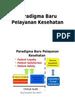 Paradigma Baru Pelayanan Kesehatan