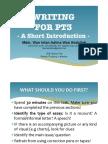 Short Tips
