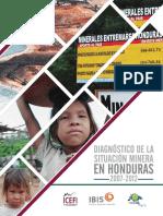 Diagnóstico de La Situación Minera en Honduras 2007 2012 Versión Para Sitio Web