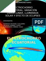 Exposicion Final de Geomagnetismo