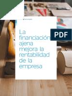 Financiacion Ajena Mejora Rentabilidad Empresa