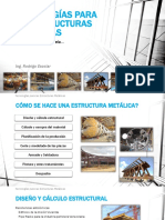 Tecnologías Para Las Estructuras Metálicas