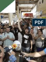 Expropiación de alimentos en el  Carrefour de Mérida
