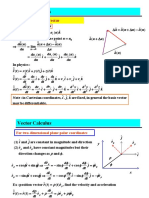 Kalkulus Vektor 1