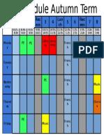 Students Schedule 2016-17.Pptx (1)