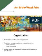 Organization in the Visual Arts