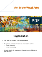 Organization in the Visual Arts
