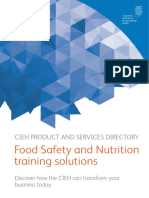 Food Safety Nutrition