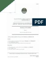 Bahasa Inggeris Percubaan JPNS SPM 2016 Paper 1