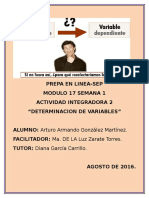 Definicion de Variables. M17S1