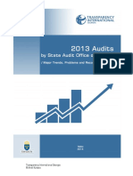 2013 Audits by State Audit Office of Georgia