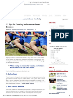 11 Tips for Creating Performance-Based Bonuses