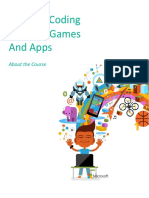 Creative Coding Through Games and Apps