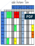 Students Schedule 2016-17