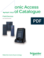 Electronic Access Control Cat; SCHNEIDER.pdf