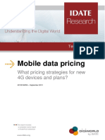 IDATE Mobile Data Pricing Sample