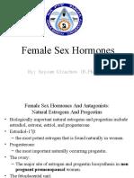 female sex hormones