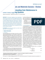 Progress in Understanding Color Maintenance in Solid State Lighting Systems 2015 Engineering